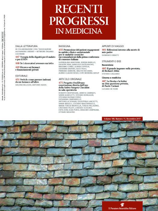 2017 Vol. 108 N. 11 Novembre